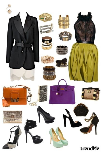 Trendy but always Elegant- Fashion set