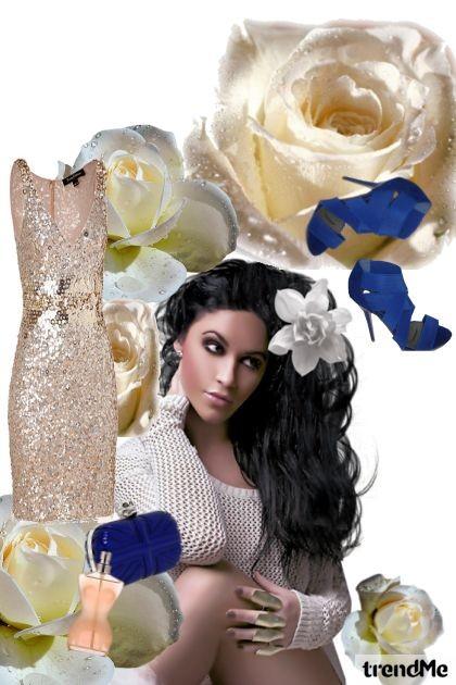 White roses- Fashion set