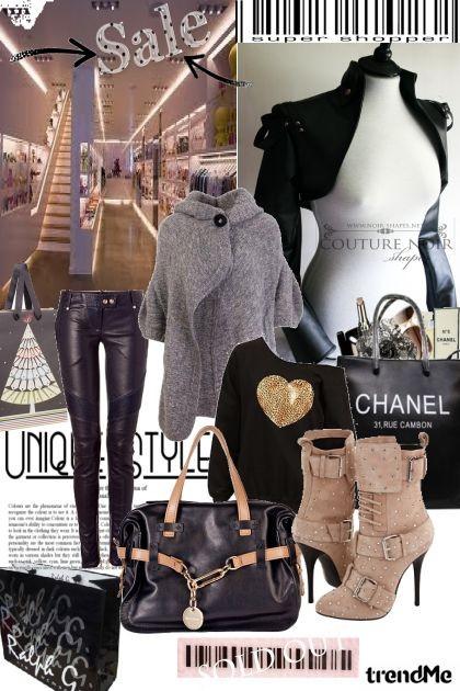 Christmas shopping fever- Fashion set