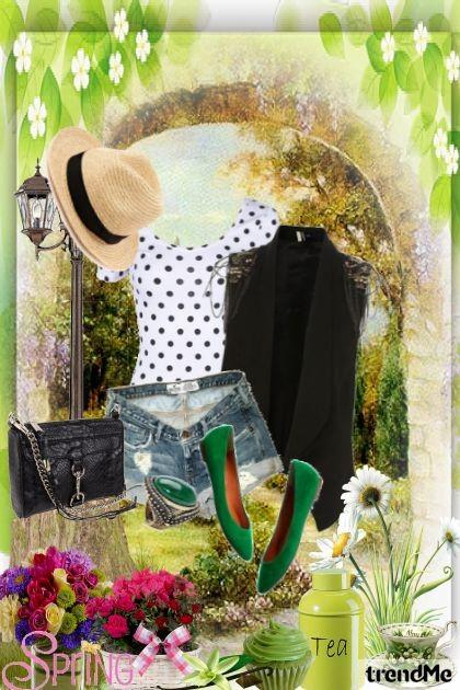 Waiting for spring- Fashion set