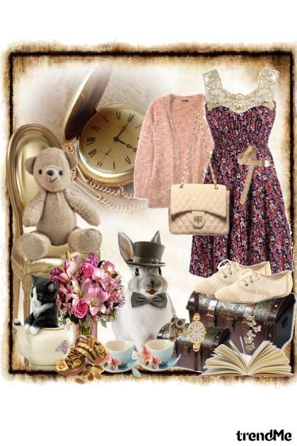 Tea time- Fashion set