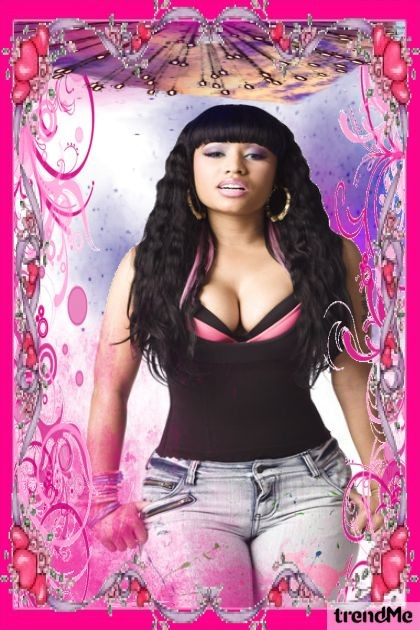 Nicki's Pink Wonderland- Fashion set