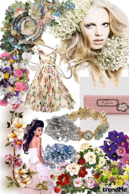 FLORAL ARRANGEMENTS- Fashion set