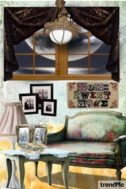 HOME SWEET HOME- Fashion set
