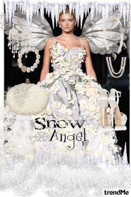 SNOW ANGEL- Fashion set