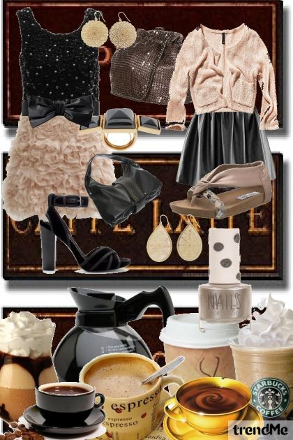 COFFEE RUN- Fashion set