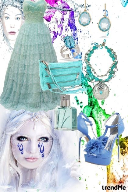 TEARS STREAM...DOWN YOUR FACE...- Fashion set