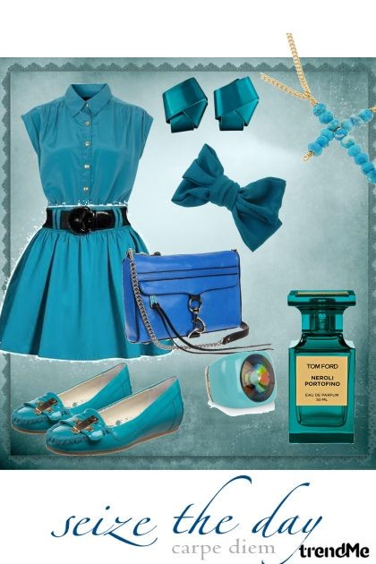 SEIZE THE BLUE DAY- Fashion set