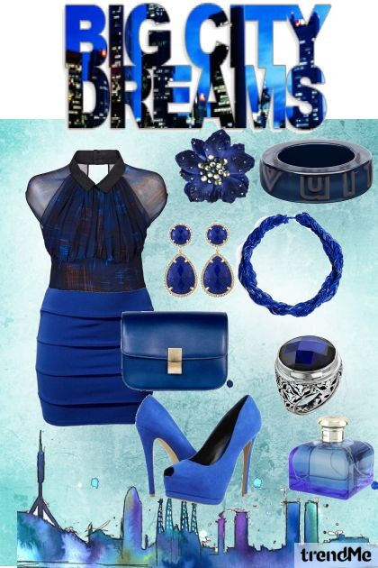 BLUE CITY DREAMS- Fashion set