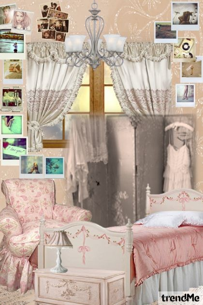 BEDROOM FILLED WITH MEMORIES- Fashion set