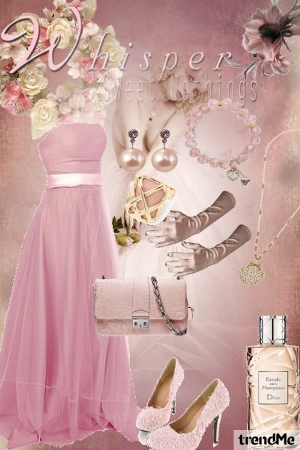 Whisper Sweet Nothings- Fashion set