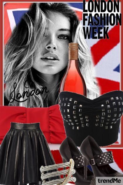London Fashion Week- Fashion set
