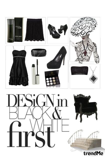 Black - Fashion set