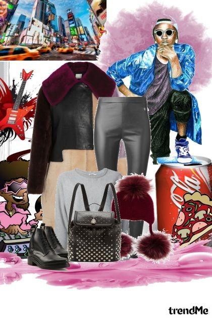 luda i hladna  jesen- Fashion set