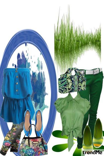 Sprehodi in poletje- Fashion set