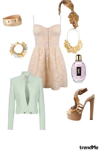 Romantic Look- Fashion set