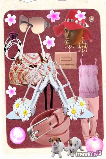 Pink summer- Fashion set