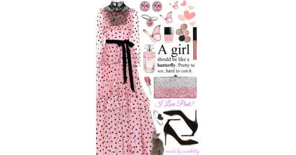 99a0b61cde6ee A Girl Should Be Like Butterfly! - Thank God I  Fabulous! Collection - cure  kitty - trendMe.net