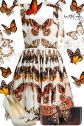 D&G Butterfly Dress