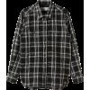 ドゥーズィエム クラスモノトーンチェック レギュラーシャツ - Long sleeves shirts - ¥19,950  ~ $177.26