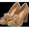タッセルリボンヒールローファー - 鞋 - ¥5,460  ~ ¥325.05