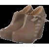 サイドレースUPリボンブーティ - Shoes - ¥6,930  ~ $61.57