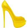 Shoes Yellow - Shoes -