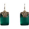 ALEXIS BITTAR Earrings Green - Earrings -