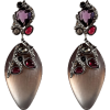 ALEXIS BITTAR Earrings Purple - Earrings -