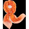 šal Scarf Orange - スカーフ・マフラー -