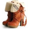 Čizme Boots Orange - Boots -