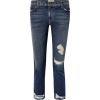 Ale Current/Elliott The Cropped distres - Jeans -