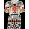 'Crazy Cleopatra' Print T-shir - Camisola - curta - $1,092.00  ~ 937.90€