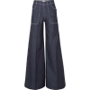 F Burberry High-rise wide-leg jeans £29 - Jeans -