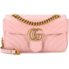 GUCCI GG Marmont Mini Leather Shoulder  - Clutch bags -