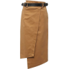 LOST INK BELTED WRAP FRONT PENCIL - Skirts -