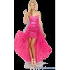 *pink tinsel dress* - People -