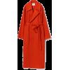 08sircus / knitted melton overcoat - Jacket - coats -