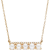 14K Gold Freshwater Pearl Necklace - Halsketten -
