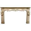 18th century fireplace mantel - Furniture -