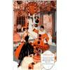 1920s halloween illustration - Illustrations -