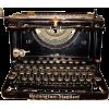 1920s remington typewriter - Items -