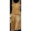 1926 Yvonne Paris Couture Gold dress - Dresses -