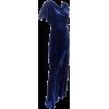 1930s velvet bias cut evening gown - Dresses -