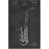 1937 saxophone illustration - イラスト -
