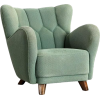 1940s Vintage Danish Club Chair - Muebles -