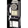1950s public telephone - Items -