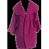 1950s raspberry pink French swing coat - Jacket - coats -