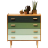1960s chest of drawers - Furniture -