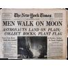 1969 moonlanding newspaper - Artikel -